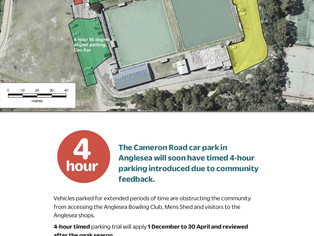 Have your say - Parking in Anglesea!