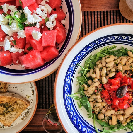Cool salads for hot summer days