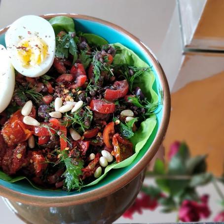 Recipe of the Month: Mediterranean Lentil Salad