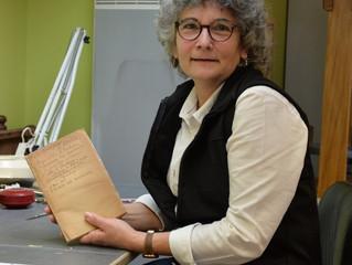 Portrait de commerçante : Christine Guiochon, Copy Plus Reliure