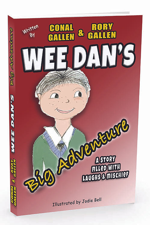 WEE DAN's Big Adventure (Children's Book)