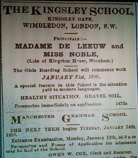 The Kingsley School, Wimbledon