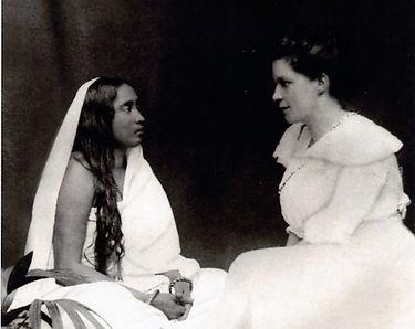 Sri Sarada Devi and Sister Nivedita