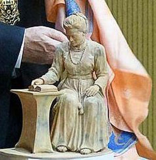 Nivedita Statue  at Ranfurly House Arts & Visitor Centre, Dungannon