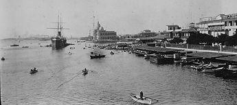 The Calcutta Dock,