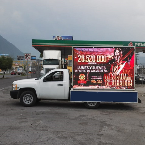 Valla LED Monterrey