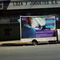 Valla Móvil Monterrey