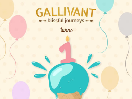 Gallivant Ice Creams Turns One!