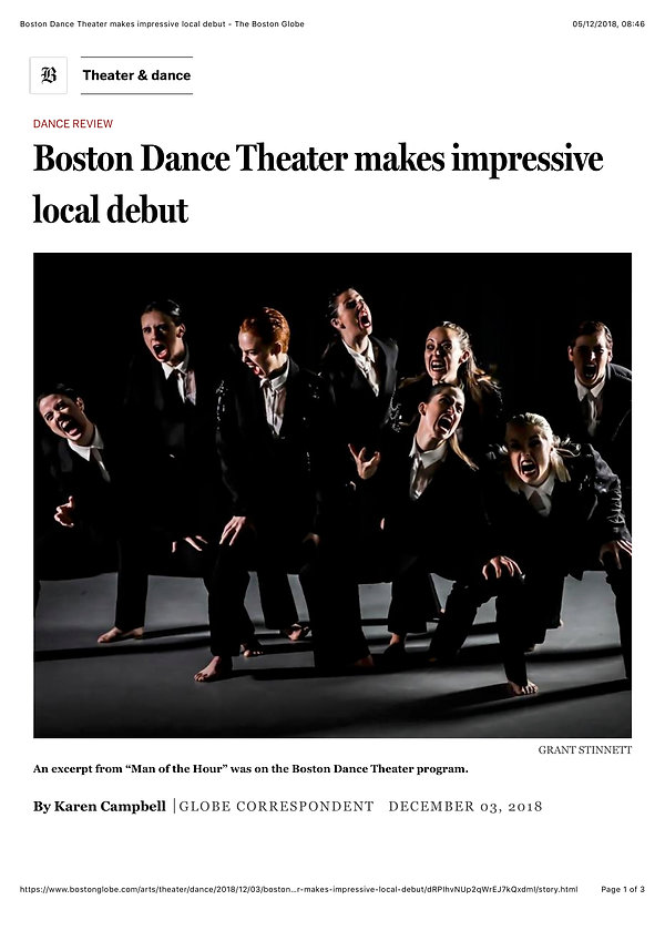 Boston Dance Theater makes impressive lo