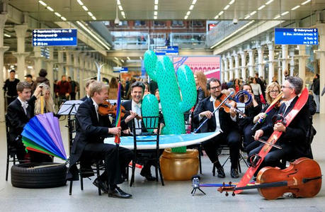 East Midlands Trains Lost Property Orchestra