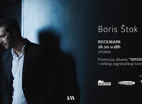 Preporuka: Boris Štok u Rockmarku
