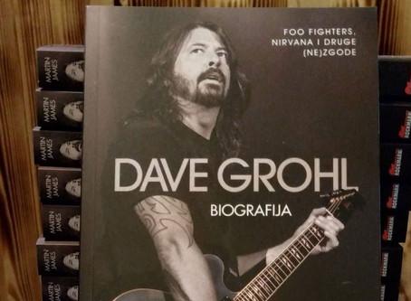 Prva biografija Davea Grohla - od sada i na hrvatskom jeziku