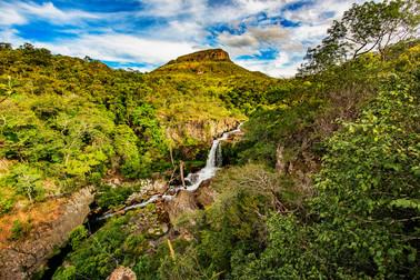 Cachoeira do Urubu-rei Foto: Jorge Diehl