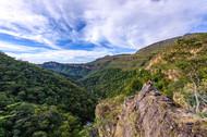 Vista do mirante do Urubu-rei Foto: Jorge Diehl