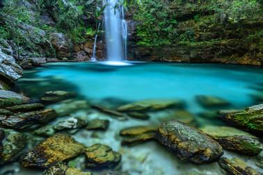 Cachoeira Santa Bárbara Foto: Jorge Diehl