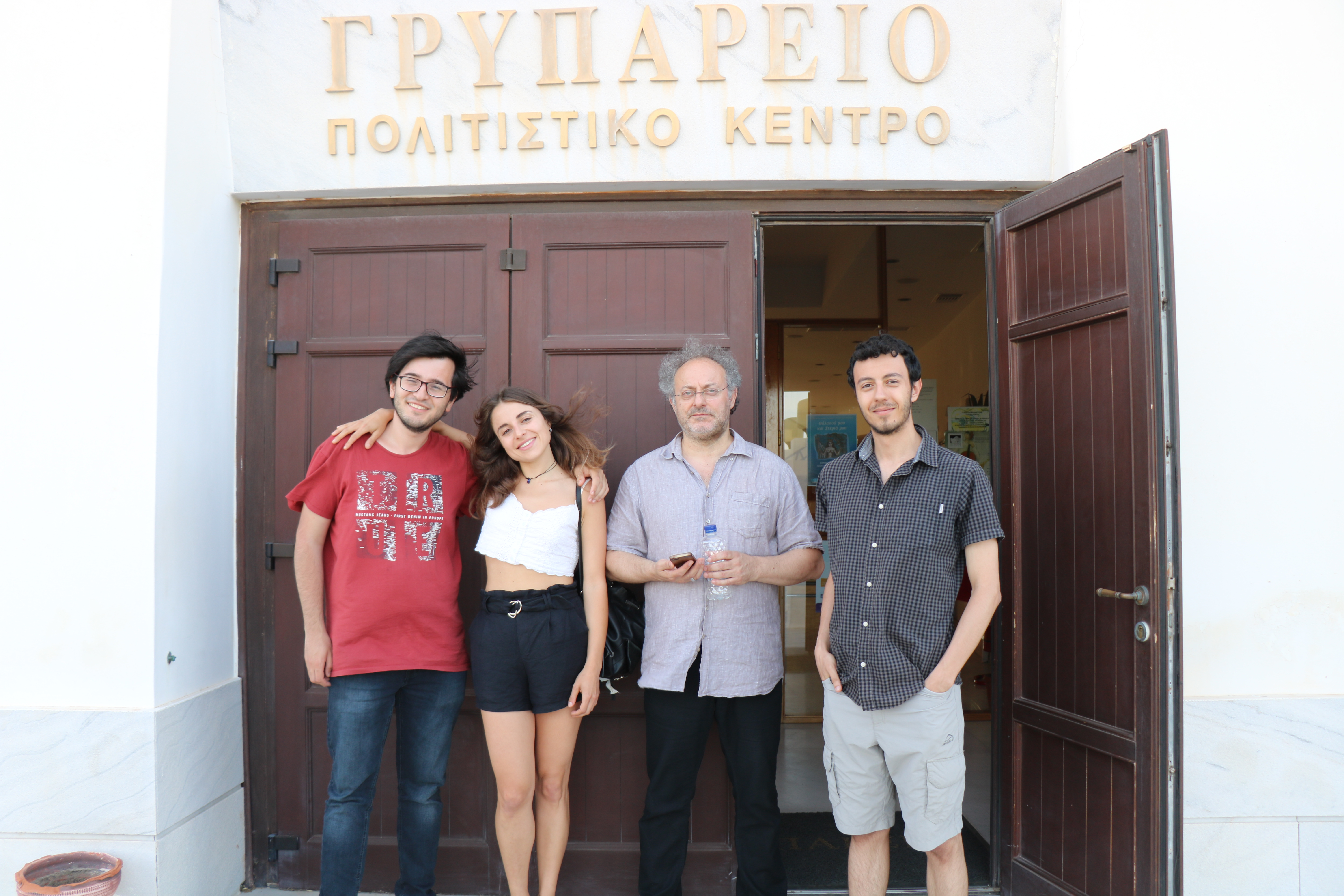 Canberk, Anna, Dimitris, Andreas