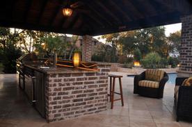 Kitchen Outdoor Bar Grill