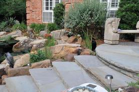 Silvermist Oklahoma stone steps patio.jp