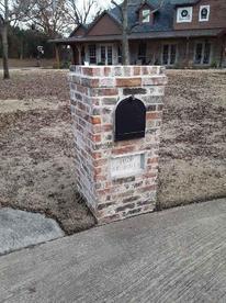 Mailbox Brick Square