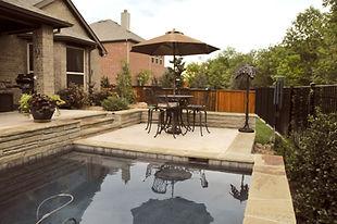 Bi-level patio