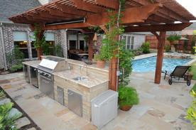 Grill Large Kitchen Granite Stone