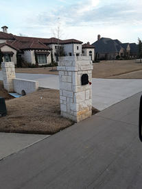 Mailbox Light Lueders Stone