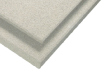 Acoustic panels made with Ecolite expanded glass granules