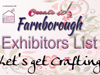 Create it Farnborough Exhibitor List