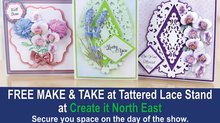 FREE Make & Take with Tattered Lace