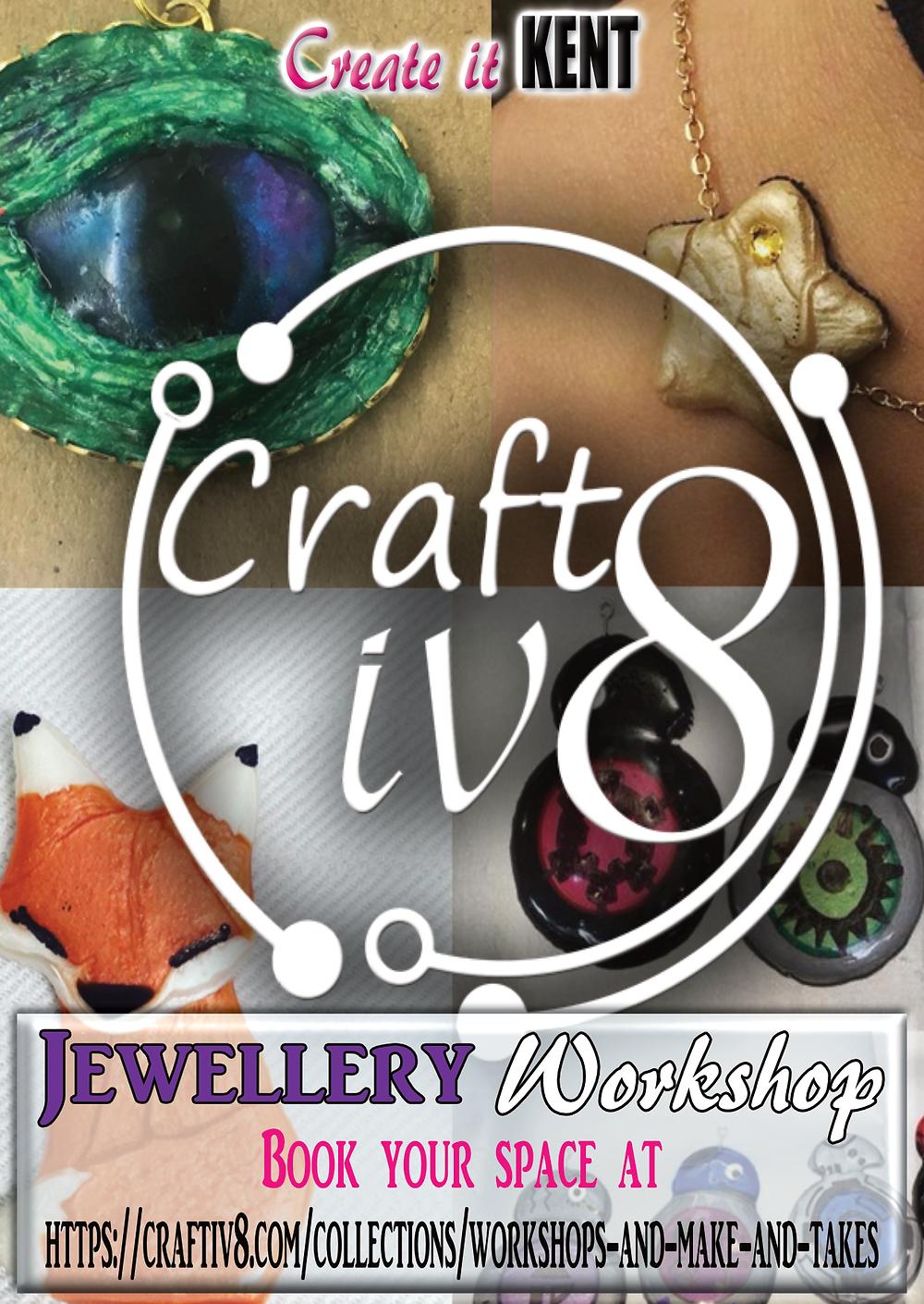 Jewellery Workshop with Craftiv8