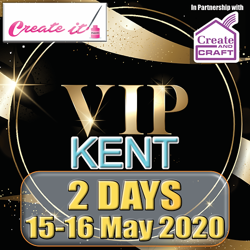 Create it Special Kent VIP Ticket - 2 Day ticket