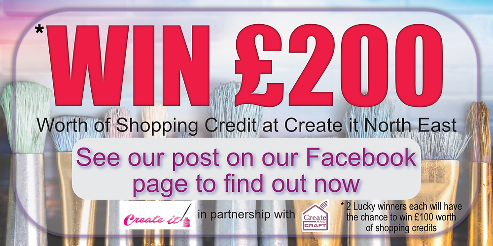 Win £200 to spend at Create it North East -Gateshead