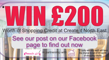 *Win £200 pounds worth of shopping Credits