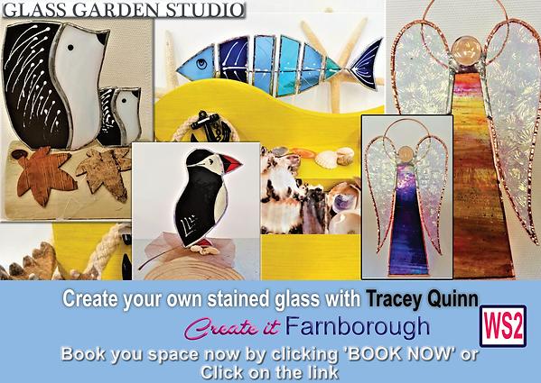 Glass garden  promo - Create it Farnboro