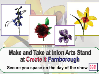 Resin Flowers Make & Take at Create it Farnborough