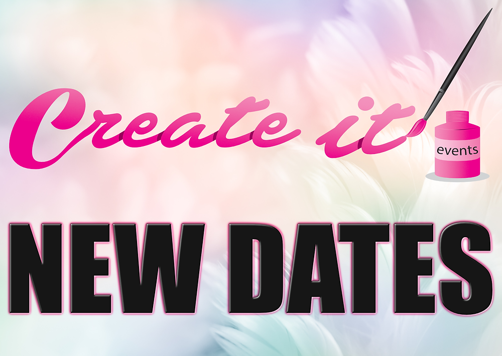 New Craft Shows Dates for Create it event