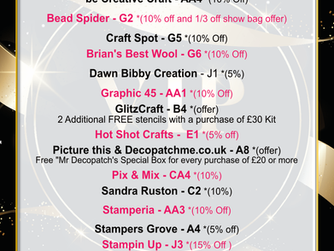 VIP Guest Discount and Offer List at Create it Farnborough