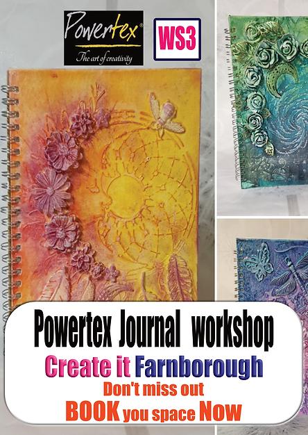 Powertex Workshop promo - Create it Farn