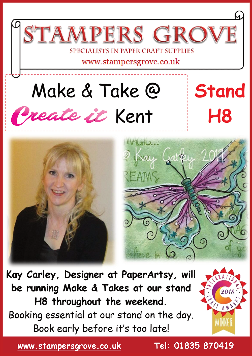 PaperArtsy at Create it Kent