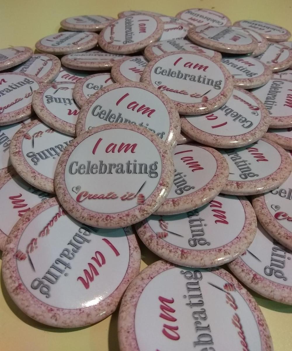 Create it celebration badges