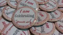 Celebration Pin badge at Create it Kent