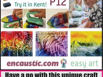 Encaustic Art at Create it Kent