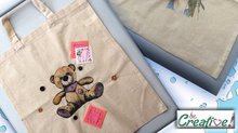 Screen and design your own tote bag