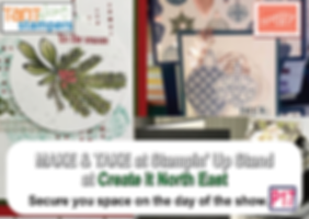 Stampin' up promo - Create it North East