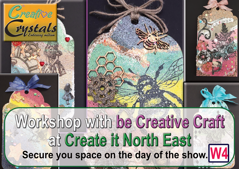 Creative Crystals Workshop at Create it North East - Gateshead Craft Show