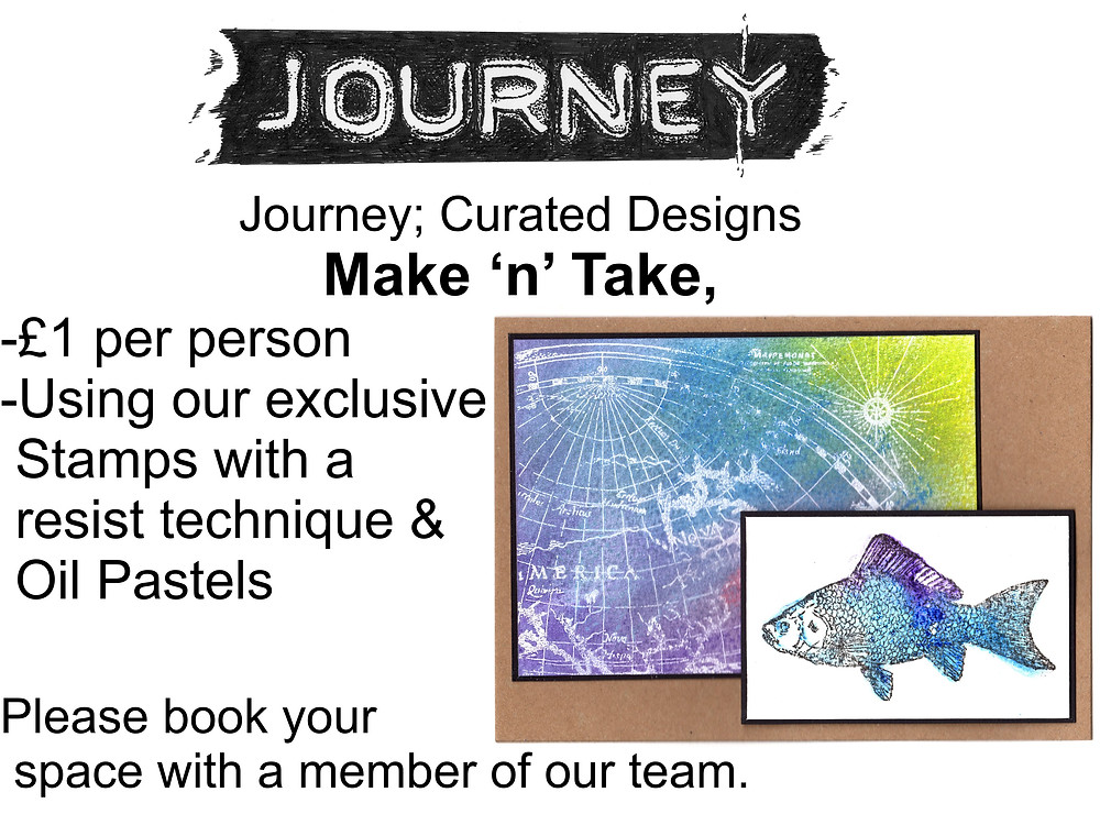 Make and take with Journey curated designs at Create it Kent