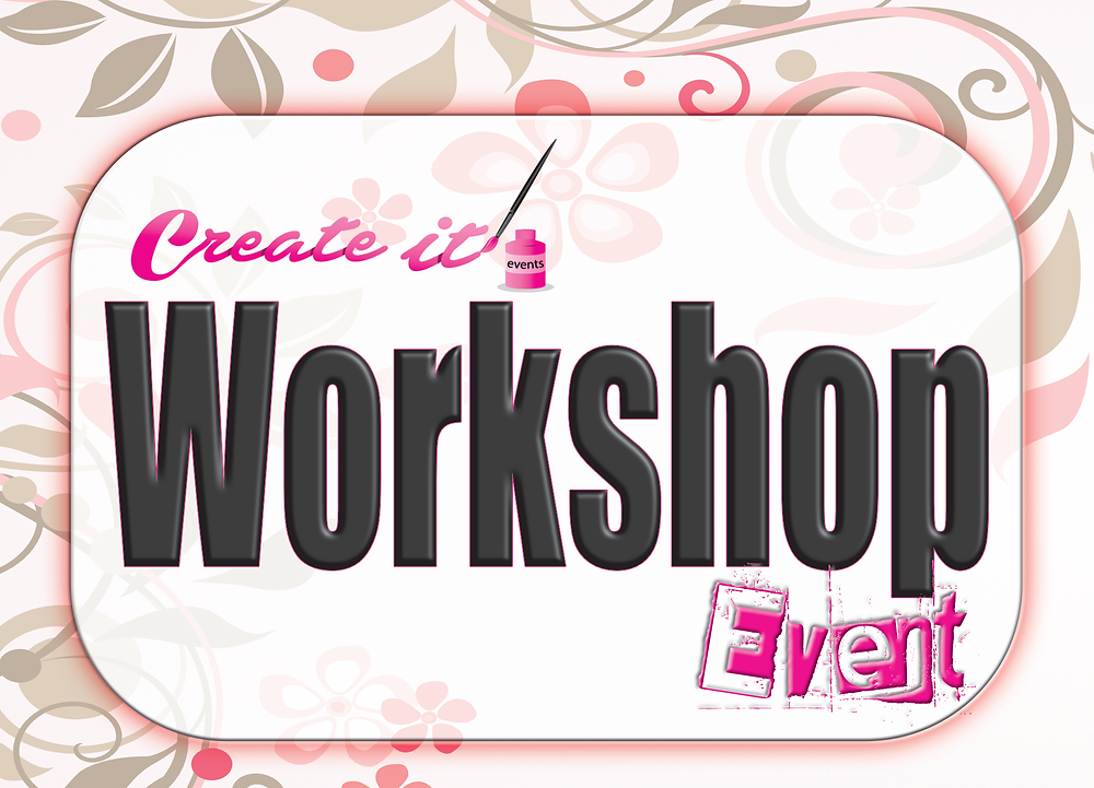 Create it Workshop Event with be Creative Craft