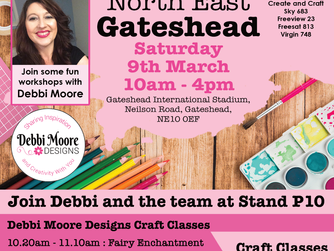 Workshop available at Create it North East - Gateshead with Debbi Moore