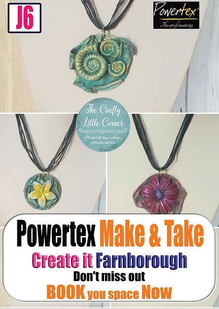 Powertex M&T promo - Create it Farnborou