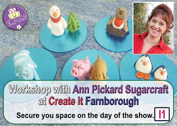 ann pickard sugarcraft promo - Create it